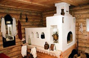 Русская печь в доме Сергиевом Посаде, Балашихе