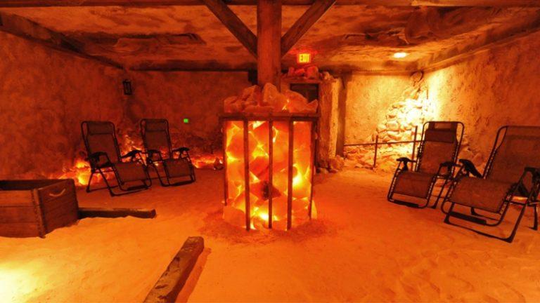 Соляная комната из гималайской соли в дмитрове