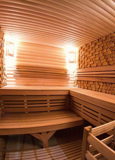 современная баня отделка внутри