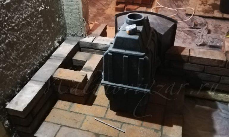 Фундамент под печь везувий