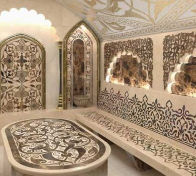 турецкая баня отделка